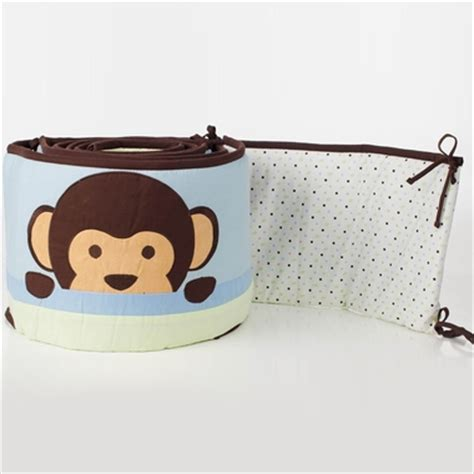 Monkey Crib Bumper by Pam Grace Maddox Monkey Crib Bumper Free Shipping 36 95