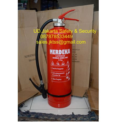 Tabung Racun Api jual alat pemadam kebakaran api ringan tabung isi racun