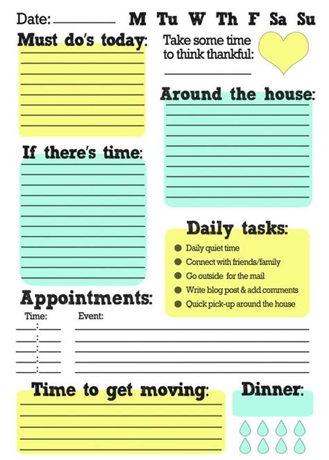 house themes list freeprintable free printable to do list great way to