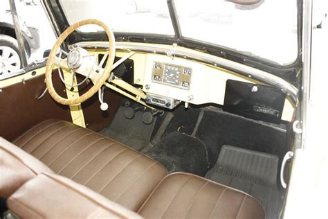 jeep jeepster interior 1949 willys jeepster convertible 113236