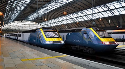 Scot Sleeper by Scotrail S New Hsts Rail Engineer