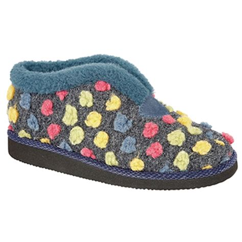 Sleepers Slippers by Sleepers Womens Tilly Lightweight Bootie Slippers