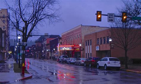 downtown clearfield  photo  pennsylvania northeast