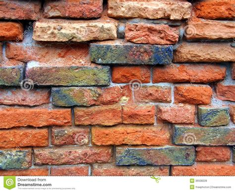 Old Brick Wall Stock Photo Image Of Size Form Colors Brick Wall Meaning