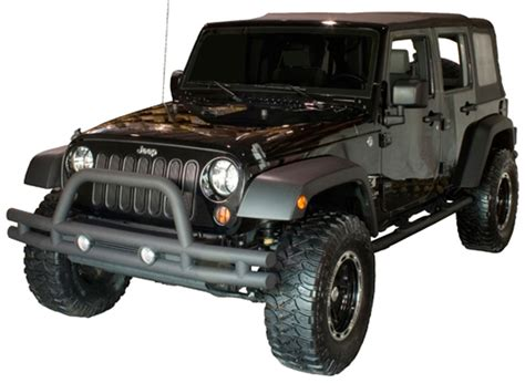 Jeep Bumbers Jeep Wrangler Jk Front Textured Black Bumper With