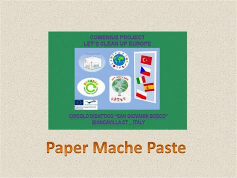 How To Make Paper Paste At Home - carta pesta paper mache paste