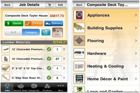home improvement app iphone home improvement apps to assist you