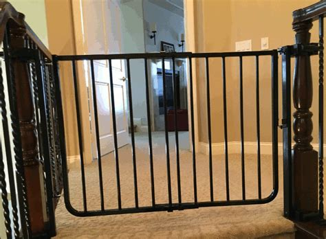 Child Gate For Stairs With Banister Toddler Safety Stair Gates Coto De Caza Baby Safe Homes