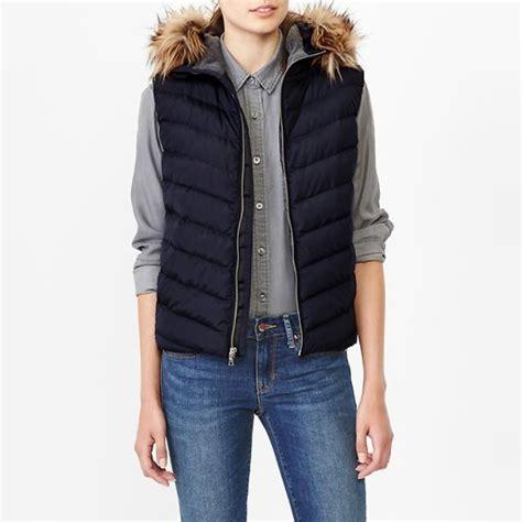 Lust List Shearling Puffer Vest gap primaloft luxe fur trim puffer vest rank style