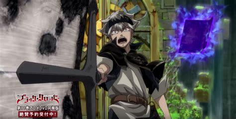 Stiker Anime Black Clover black clover tv anime set for 2017