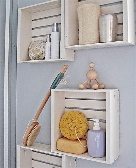 badezimmer deko basteln kreative wandgestaltung badezimmer mit diy