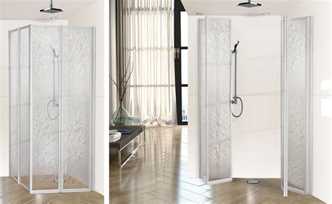 Acrylic Shower Doors Lexan Shower Doors Vigo Acrylic Pivot Door Glass Frameless Shower Enclosure With Base