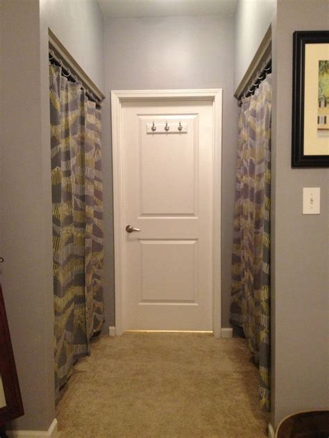 How To Replace Closet Doors 17 Best Images About Closets With Curtains On Pinterest Closet Organization Tub Shower Combo
