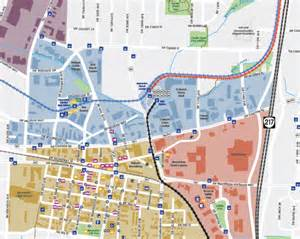 downtown walking map beaverton or official website