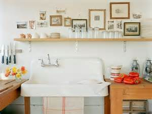 Amour fou d butcher block and porcelain sinks