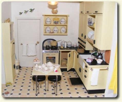 miniature dollhouse kitchen furniture www cdhm org february 2010 cdhm feature on dollhouses