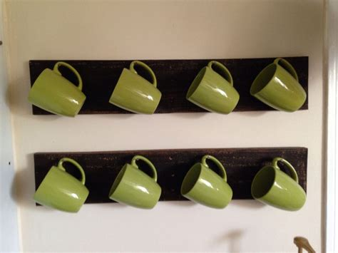 Coffee Cup Hooks Kitchen by Pallet Coffee Cup Holder Pallets
