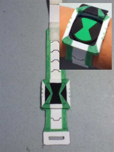 How To Make A Paper Ben 10 Omniverse Omnitrix - how to make a paper ben 10 omniverse omnitrix 28 images
