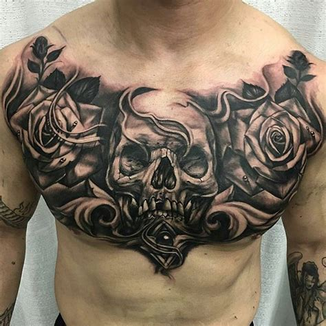 full chest tattoos designs 25 best ideas about chest on underboob