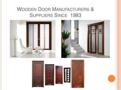 Door Manufacturers by Wooden Door Manufacturers