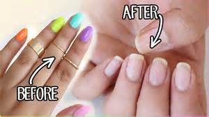 hellomaphie how to remove fake nails