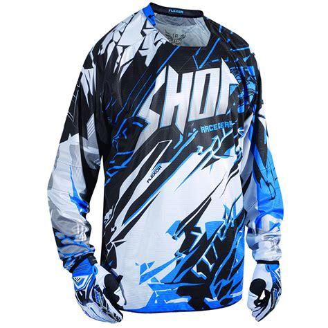 motocross and jersey flexor 80 s motocross shirt mx jersey blue m