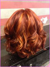 hair with low lights style highlights and lowlights for red hair style hairstyles