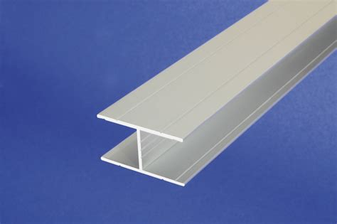 Aluminum H Section by Aluminum Anodised Channel H Shape Section Grooved Bar H
