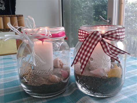 candele con conchiglie candele con sabbia e conchiglie le mie creazioni