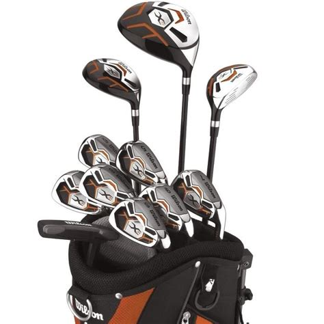 Wilson Golf wilson x31 herren golfset stahl lh golfbrothers de