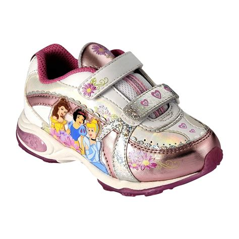sears toddler shoes disney toddler princess multilights white pink