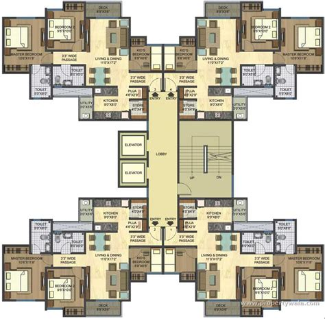 3 bhk floor plan lodha casa rio dombivli thane apartment flat