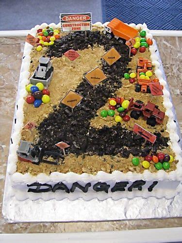 construction 2nd birthday cake construction birthday cake birthday boy pinterest