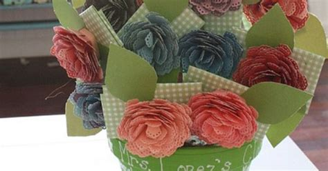 Ek Gift Card - gift card bouquet materials needed double sided scrapbooking paper in multiple colors