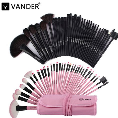 Make Up Brush Set Mac 32pcs pink mac makeup brush set mugeek vidalondon