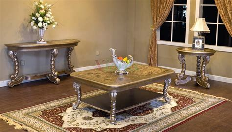 Living Room Coffee Table Sets | alya rectangle coffee table set toronto for living room