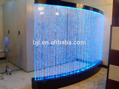 led acrylic aquarium water bubble wall house hall
