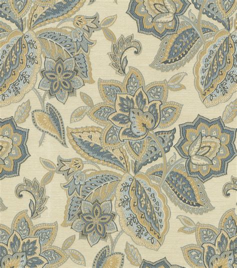 waverly home decor home decor upholstery fabric waverly treasure trove sapphire jo ann