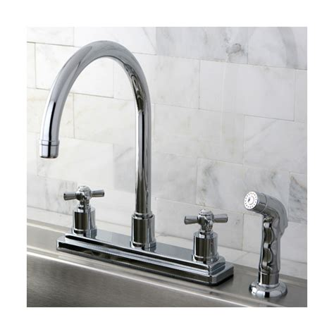 kingston brass kitchen faucet reviews kingston brass millennium centerset kitchen faucet
