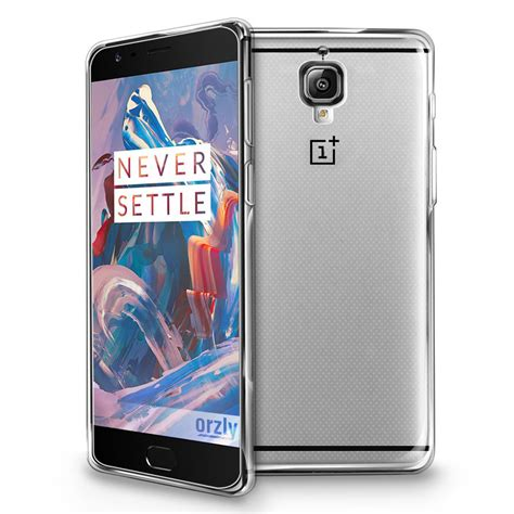 Oneplus 3 3t Imak Clear Casing Cover Bening Transparan oneplus 3 3t flexicase clear orzly