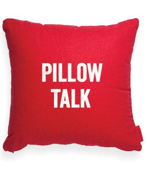 How To Pillow Talk pillow talk pillow for the home