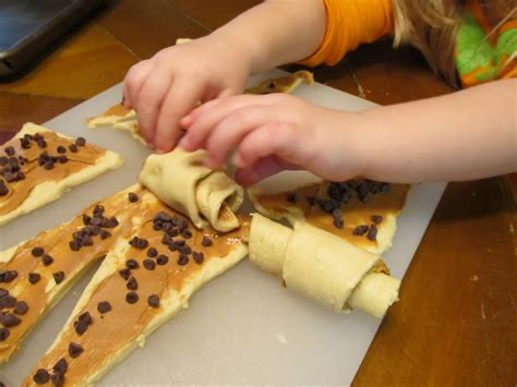 Easy Cooking guest post from this s happy peanut butter chocolate chip crescents mess for less
