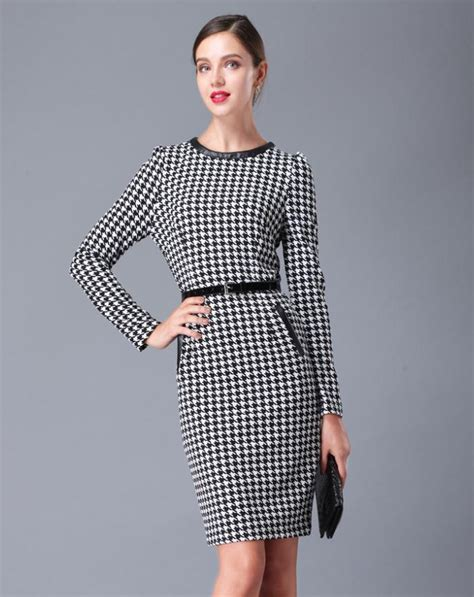 houndstooth pattern clothes vintage houndstooth pattern dress on luulla