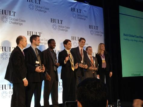 Hult Mba Scholarship For Students by Tuck School Of Business Tuck Students Win At Hult Global