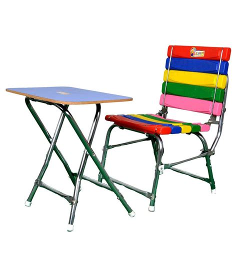 study table and chair set sohum multicolour study table and chair set best price in