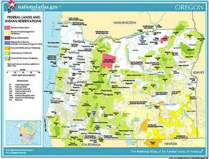 Blm Land Map Oregon by Printable Maps Federal Lands