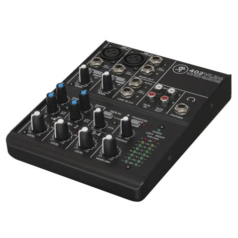Mixer 4 Channel Murah mackie 402 vlz4 4 channel analog compact mixer at
