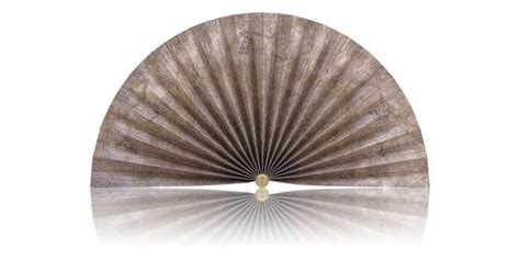 decorative pleated window fans gold with silver accents pleated decorative fans