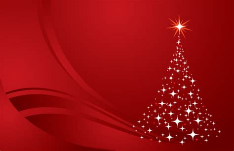 christmas tree background red vector graphic twinkling