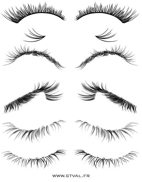 tumblr photoshop brushes eyelashes brushes by stephanievalentin on deviantart